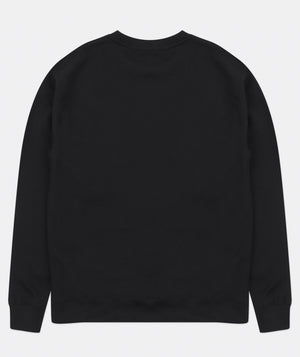 HOLOGRAM CREWNECK BLACK