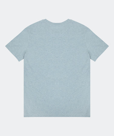 SUBTLE TEE LIGHT BLUE HEATHER