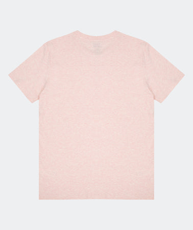 SUBTLE TEE PALE PINK HEATHER