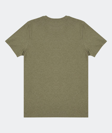 SUBTLE TEE KHAKI HEATHER