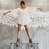 Angel Sleeves Bohemian Tunic By No Store