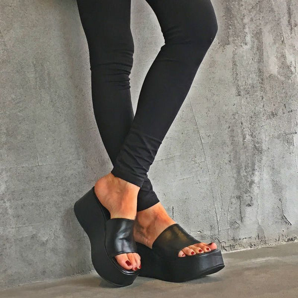 Barcelona High Wedges Sandals