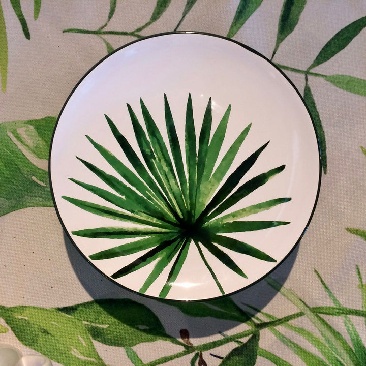 Big Palm Tree Plate by No Store