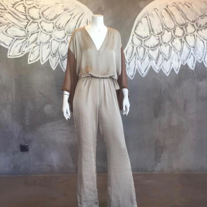 Bohemian Chic Jumpsuit by No Store