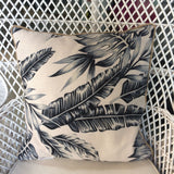 Tropical Blue Pillow