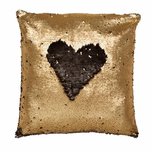 Color Change Sequined Pillow Cushion With Inner by NoStore