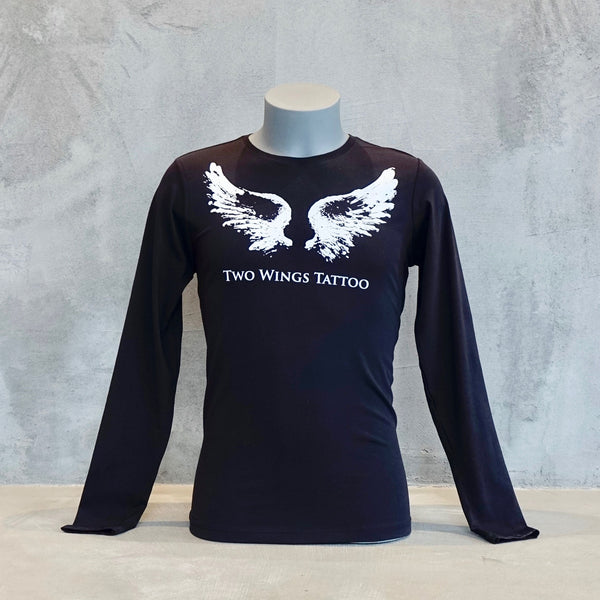 Long Sleeves Unisex T-Shirt With Two Wings