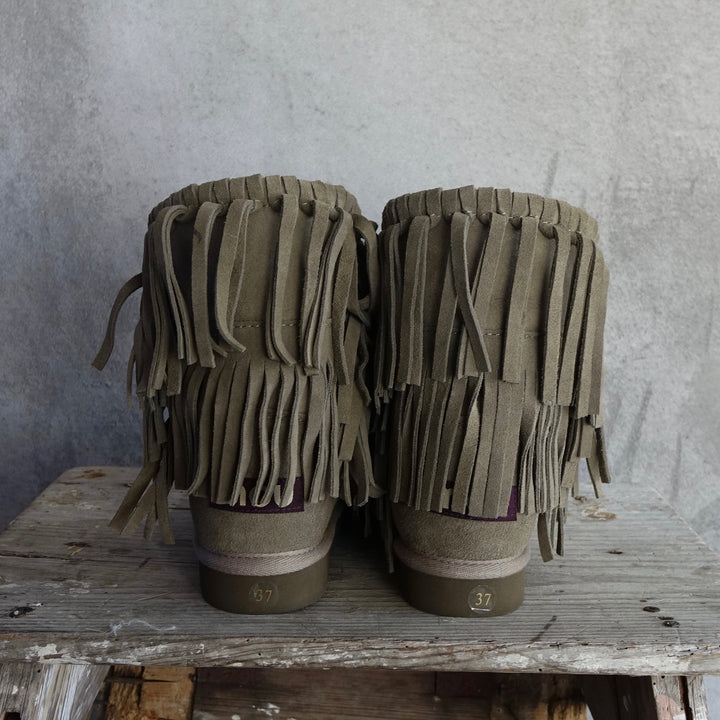 Mou Eskimo Fringe Boots By No Store