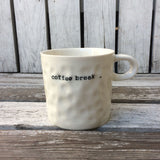 Mug 'Pause' Offwhite by No Store