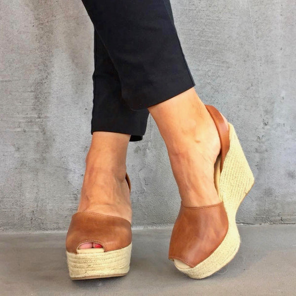 Perfect Summer Wedge Sandals