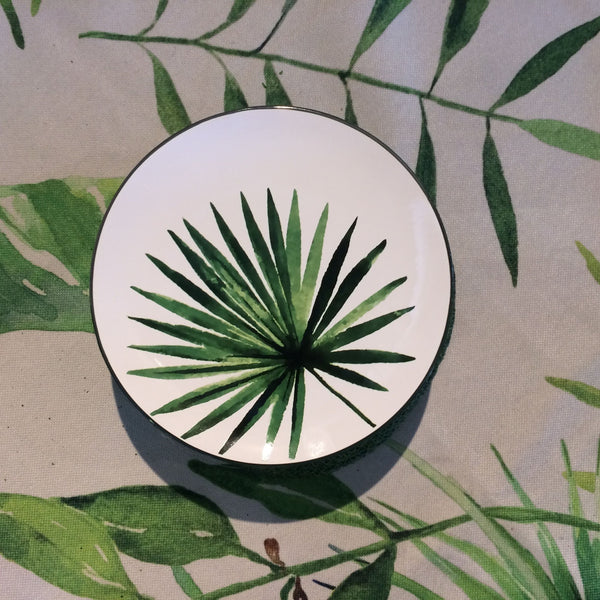 Small Palm Tree Plate