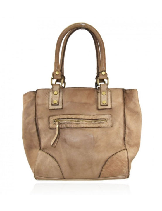 Vintage Look Leather Bag