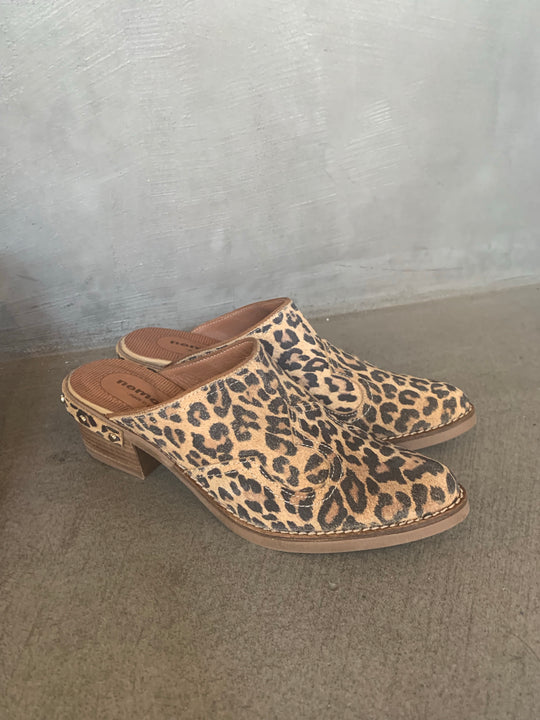 Leopard simple clogs