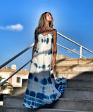 Tiedye maxi dress