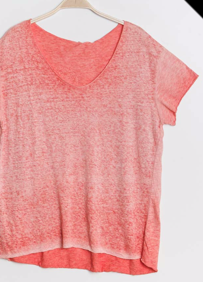 Distressed t shirt