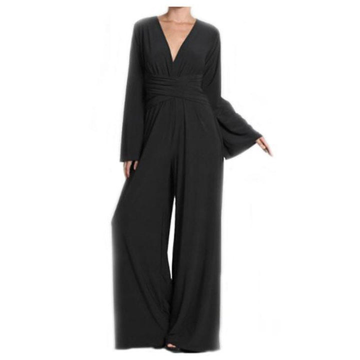 Wrap Jumpsuit By No Store