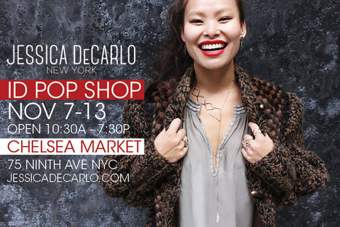 Chelsea Market ID Pop Up Shop November 7th - 13th