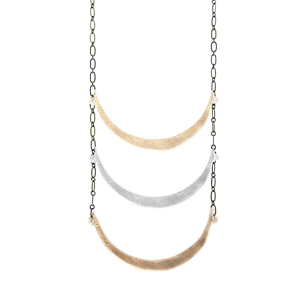 Moon Ladder Necklace
