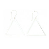 Shape Earrings: Triangle