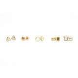 Baguette Fancy Basket Studs