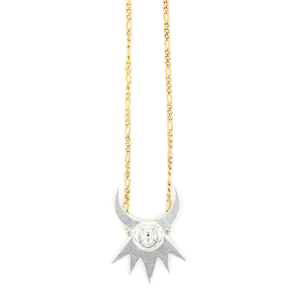 Astral Crown Necklace - Mixed Metals