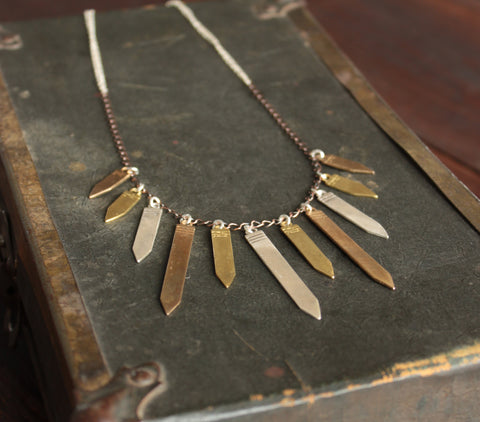Nation of Symbols: Arrow Head Princess Necklace