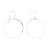 Shape Earrings: Front Hoop