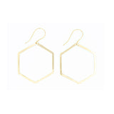 Shape Earring: Hexagon