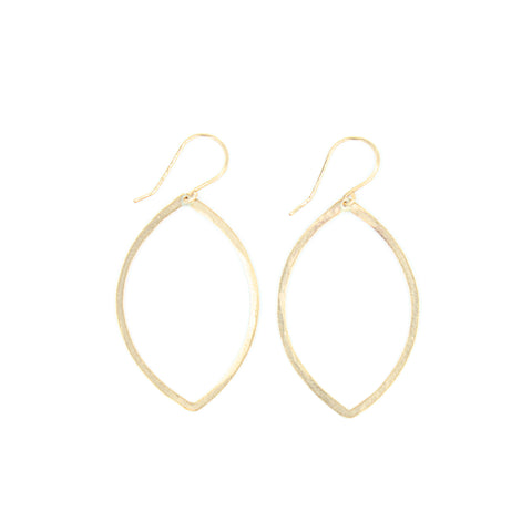 Shape Earrings: Marquis