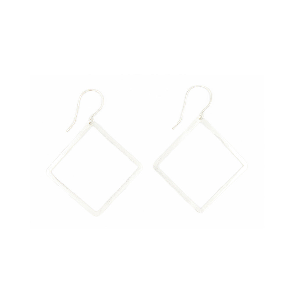 Shape Earrings: Diamond