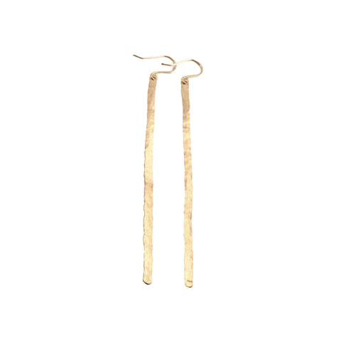 Moon Phase Studs - Brass