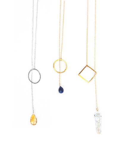 Gold Vermeil Moon & Star Necklace