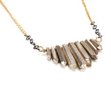 Metal Crystal Necklaces