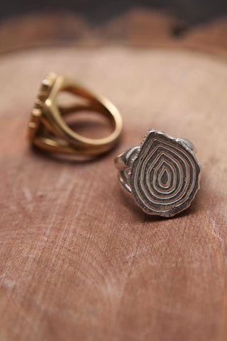Sticks & Stones Tree Trunk Ring