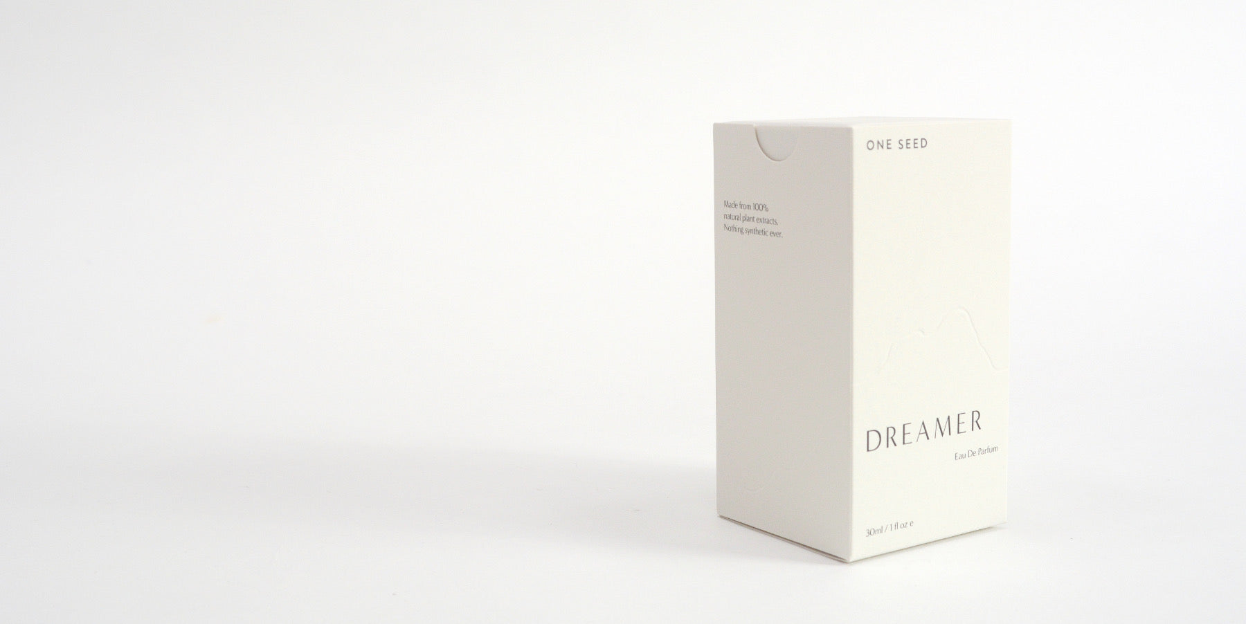 one seed perfume packaging natural beauty australia