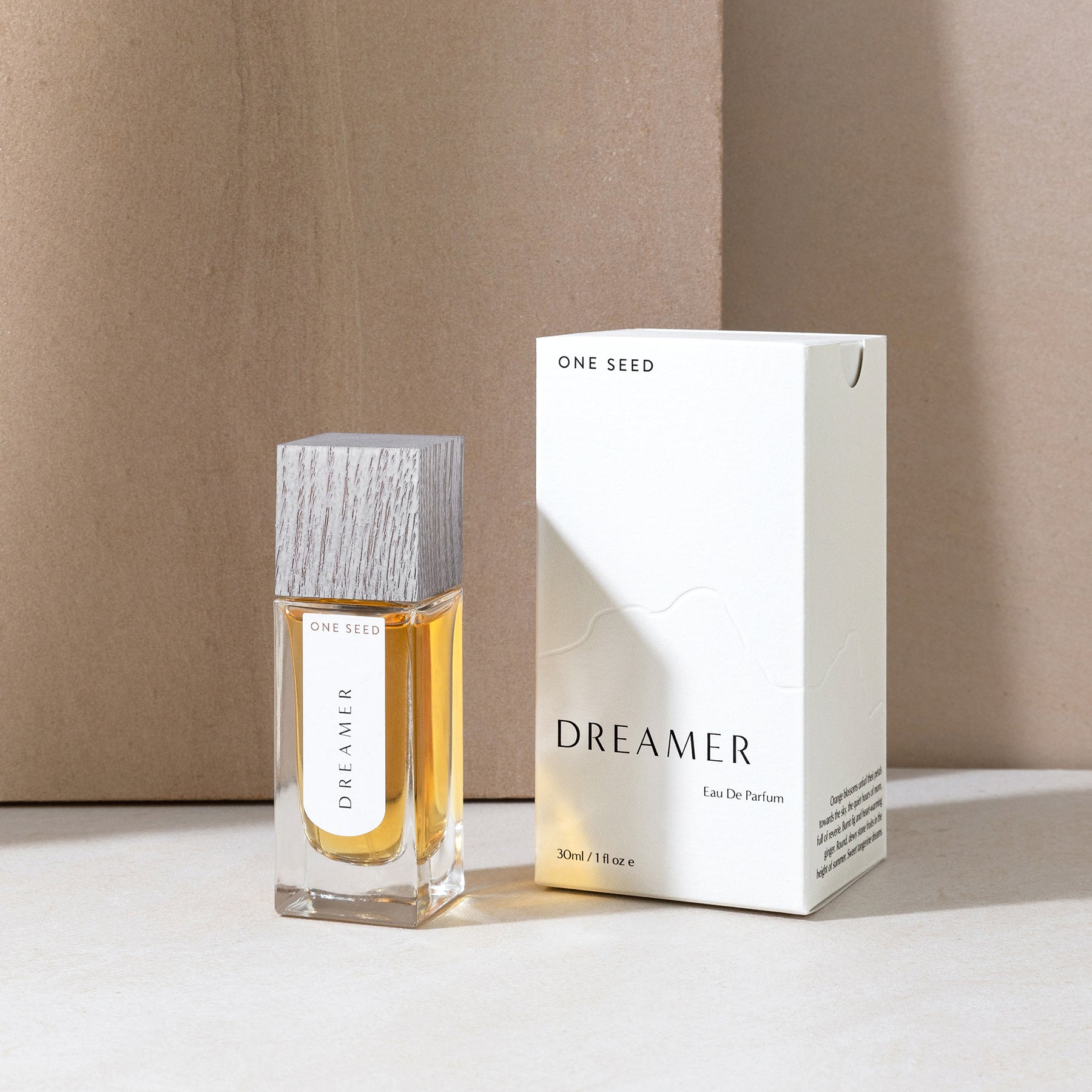 dreamer fresh floral perfume one seed natural organic fragrance