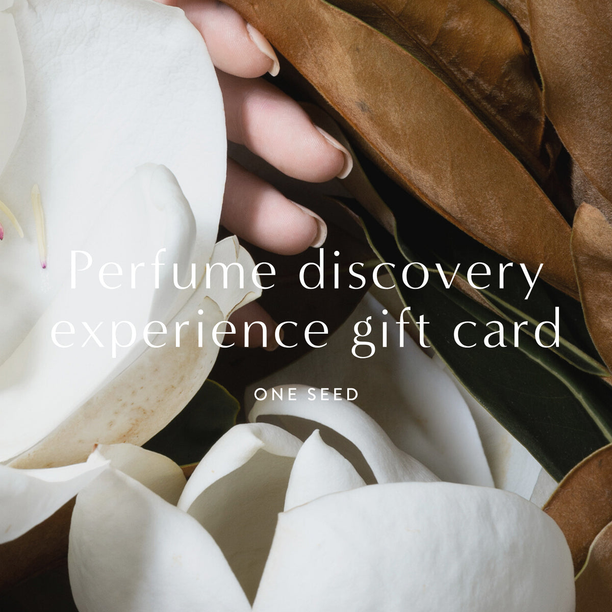 one seed organic natural perfume gift card