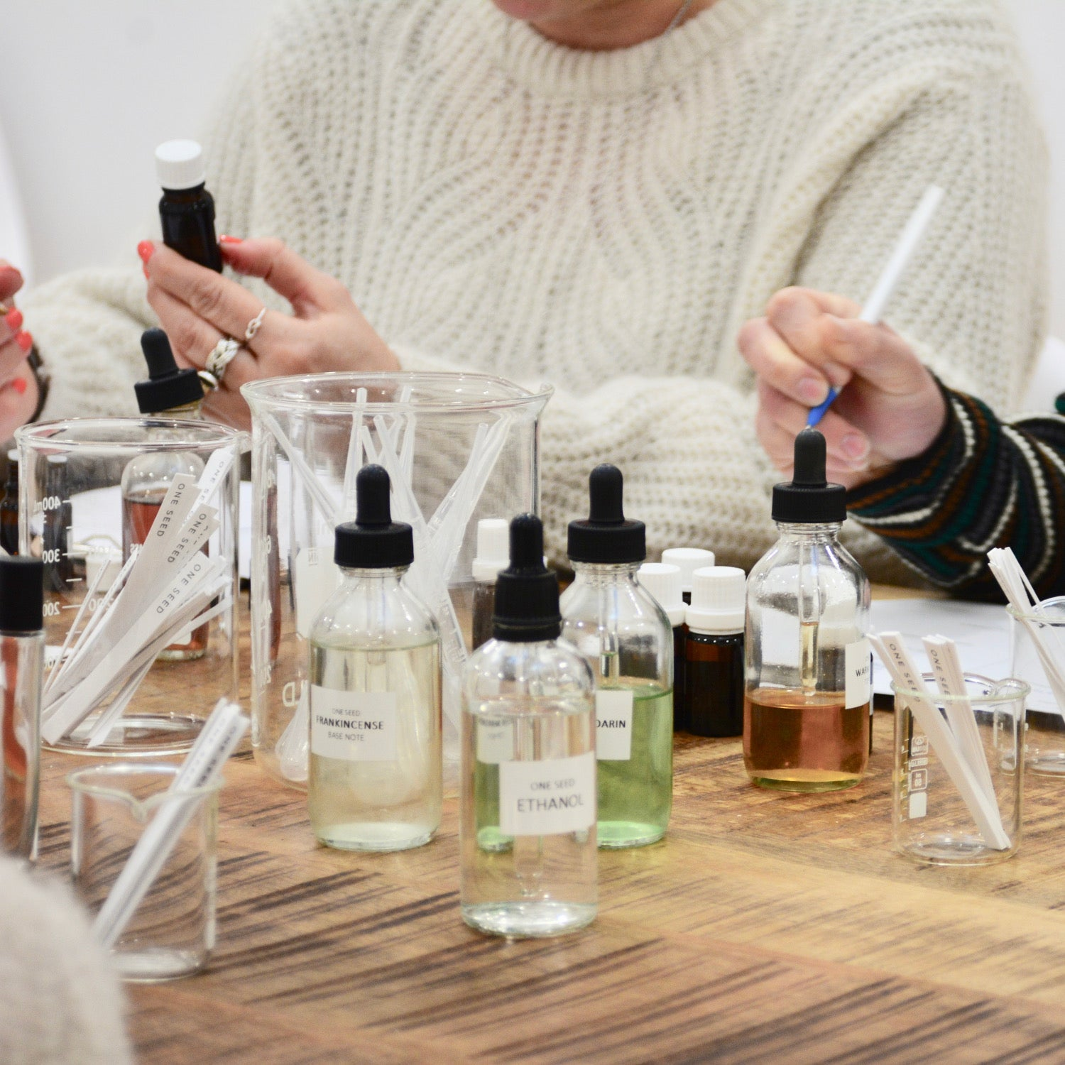 one seed melbourne perfume workshop class learn perfumery