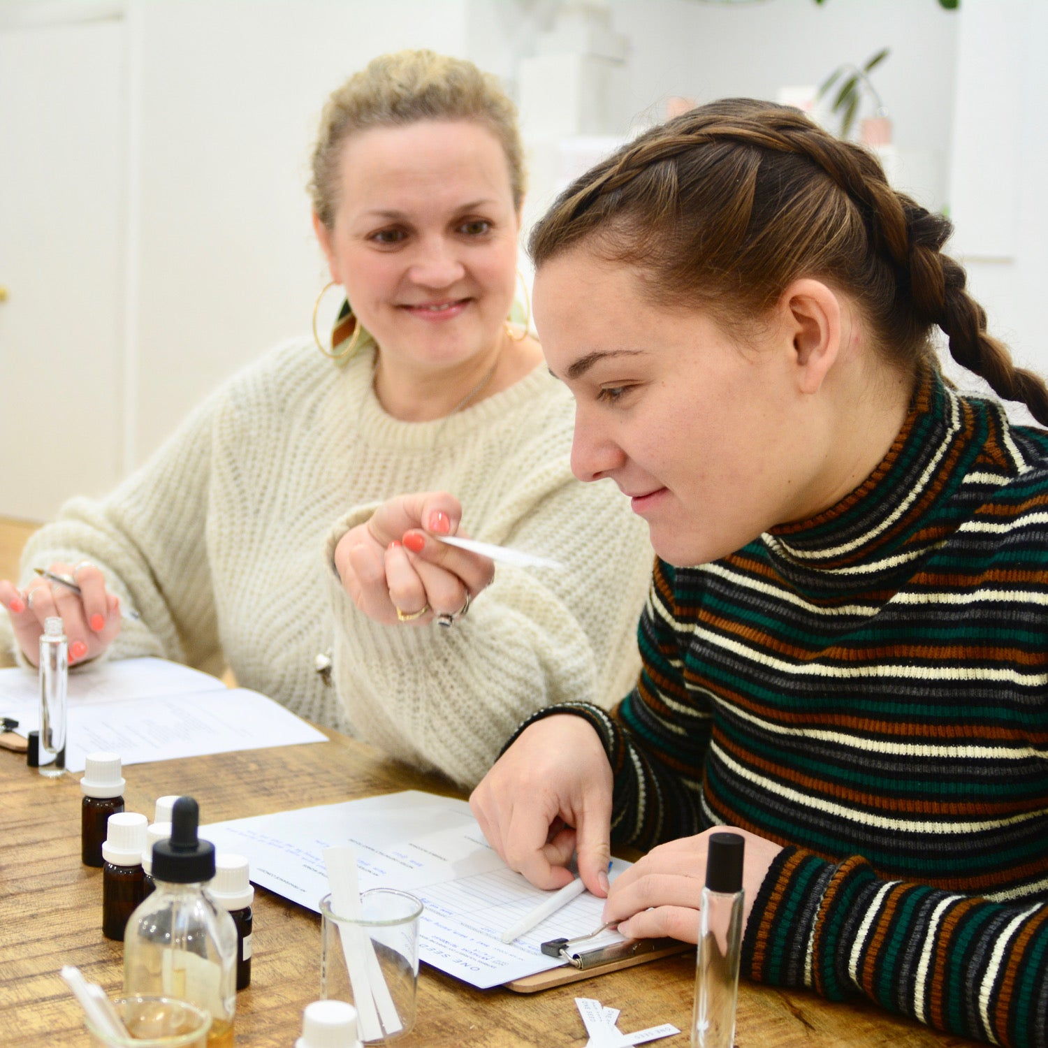 one seed natural perfume perfumery workshop class training masterclass