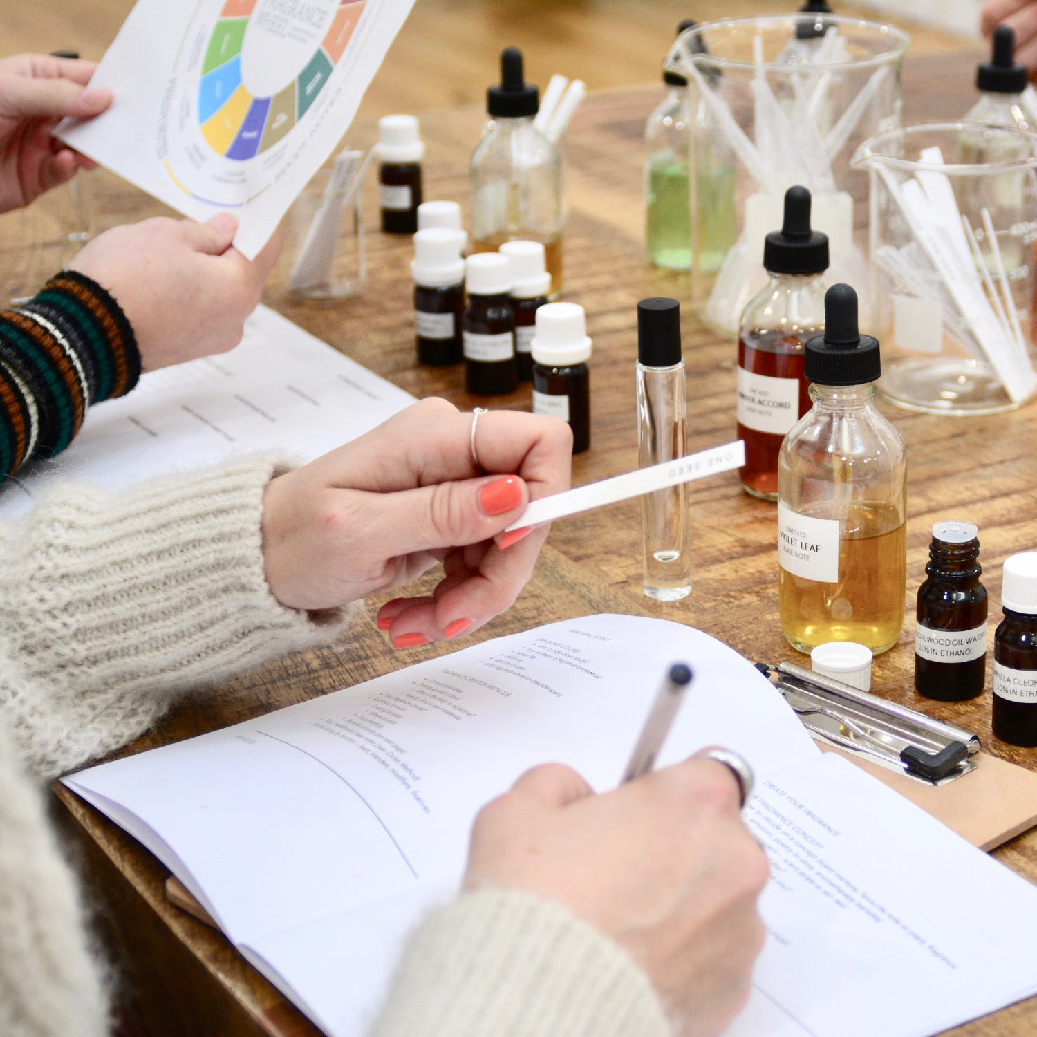one seed perfume workshop trainign class masterclass sydney natural