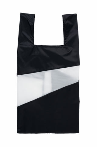 Shoppingbag Black/White 16