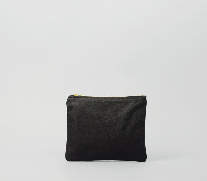 Purse S - Leather - black