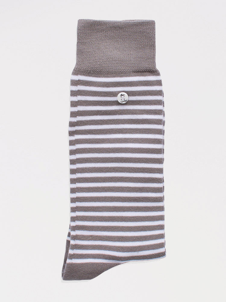 Stripes - Grey & White - S