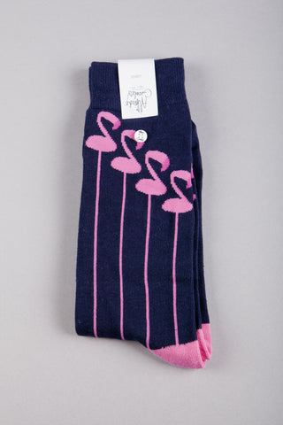 Flamingo Socks - 1 paar