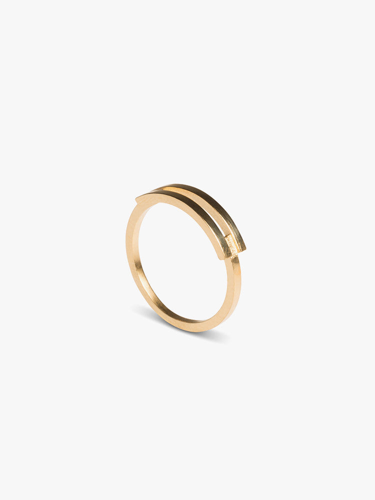RING AFFIX GOLD PLATED