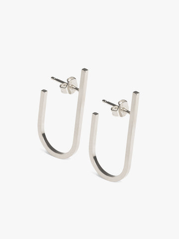 EARRING 'RIVET' (PAIR) - Sterling Silver