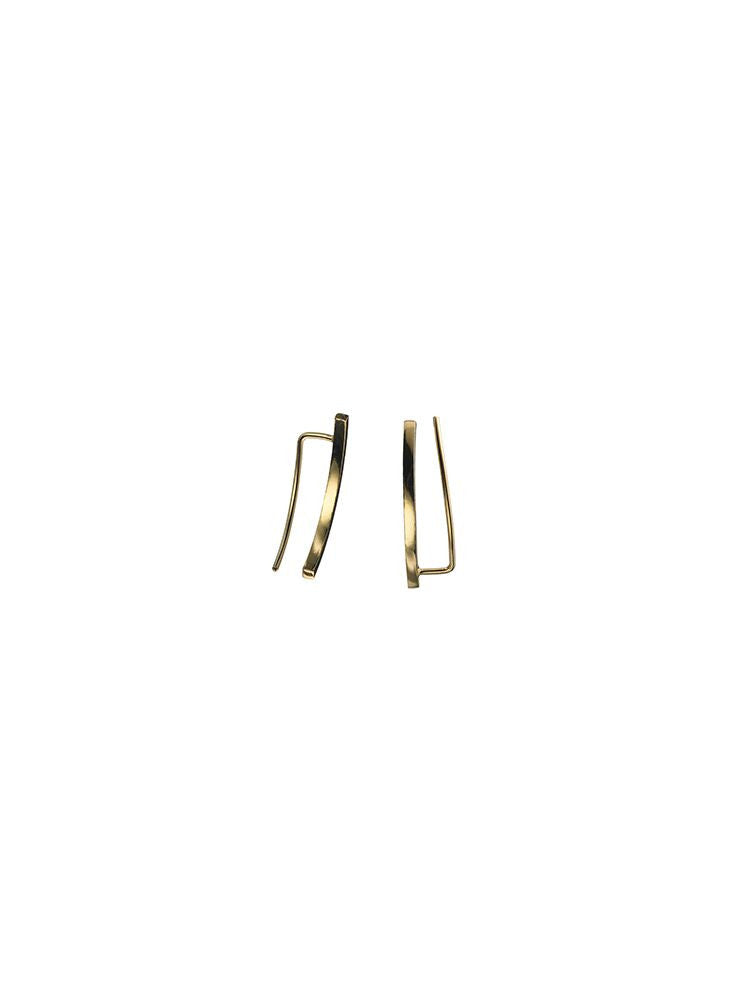Earpiece 'Phase' Pair Gold Plated