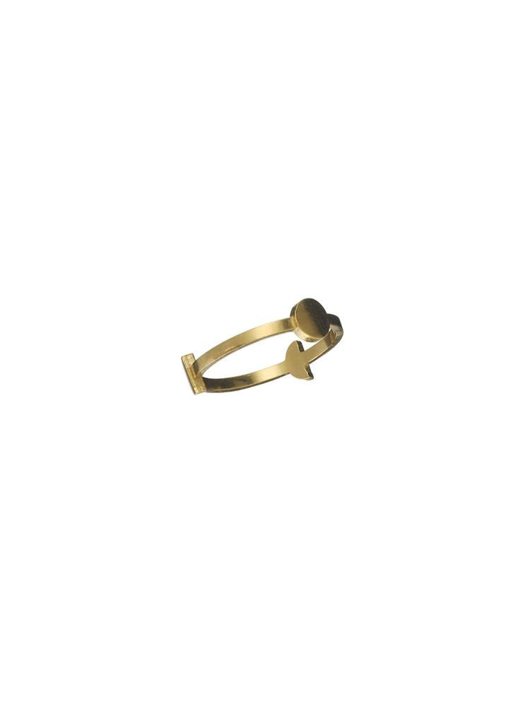 Ring 'Orb' Gold Plated
