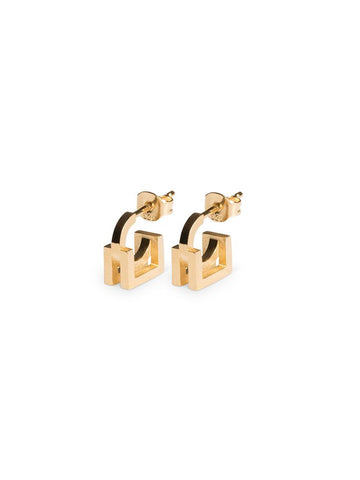 EARRING GARNER (PAIR) - Gold Plated
