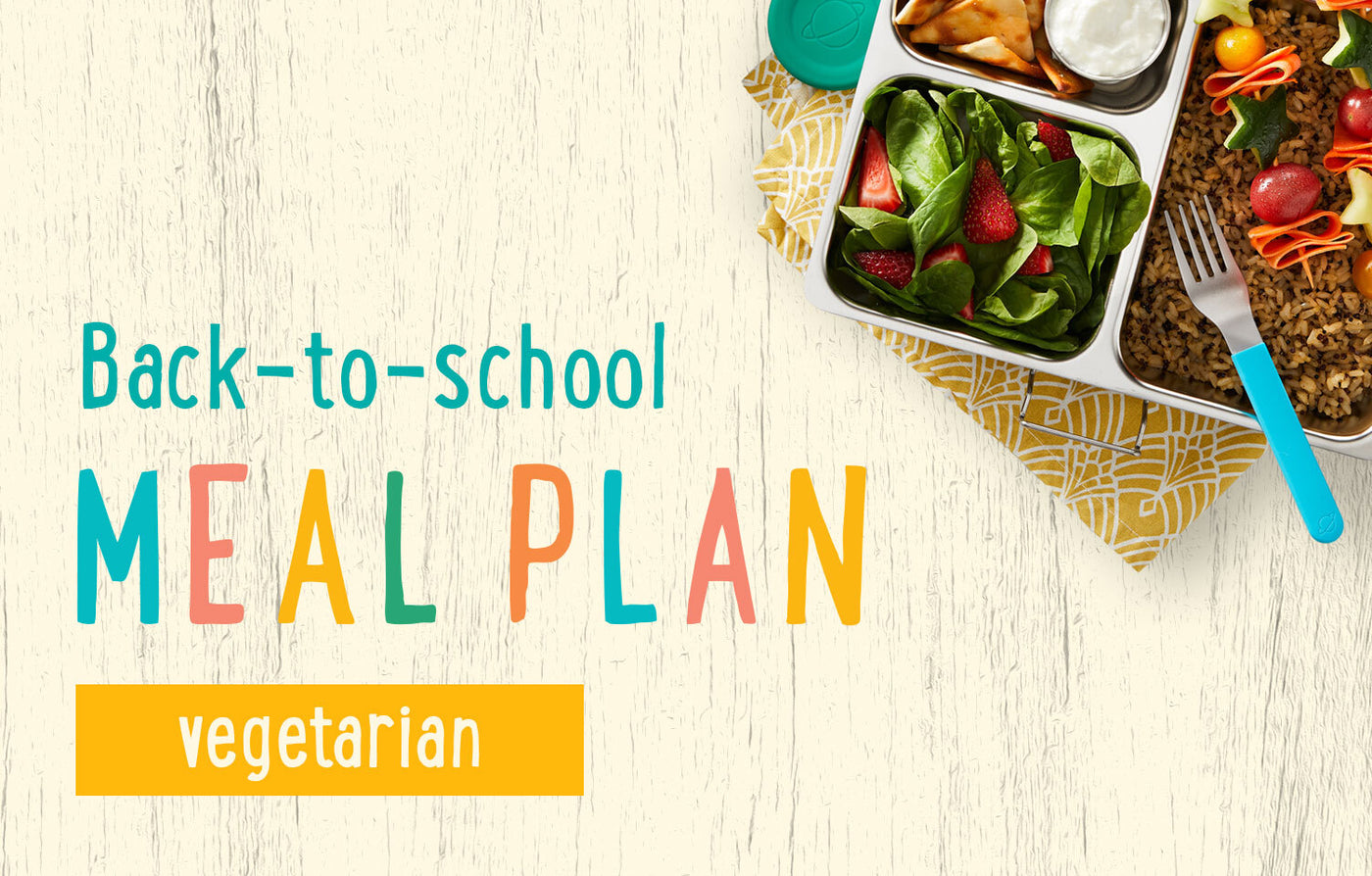Vegetarian Meal Plan for Kids
